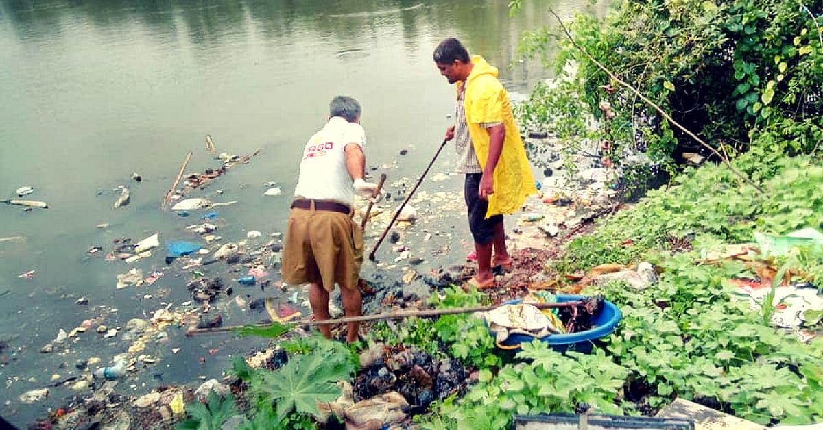 Mumbaikars Charkop mangroves trash