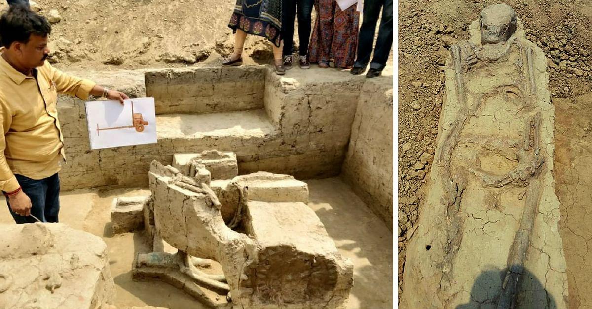 Archealogical Excavation site Uttar Pradesh