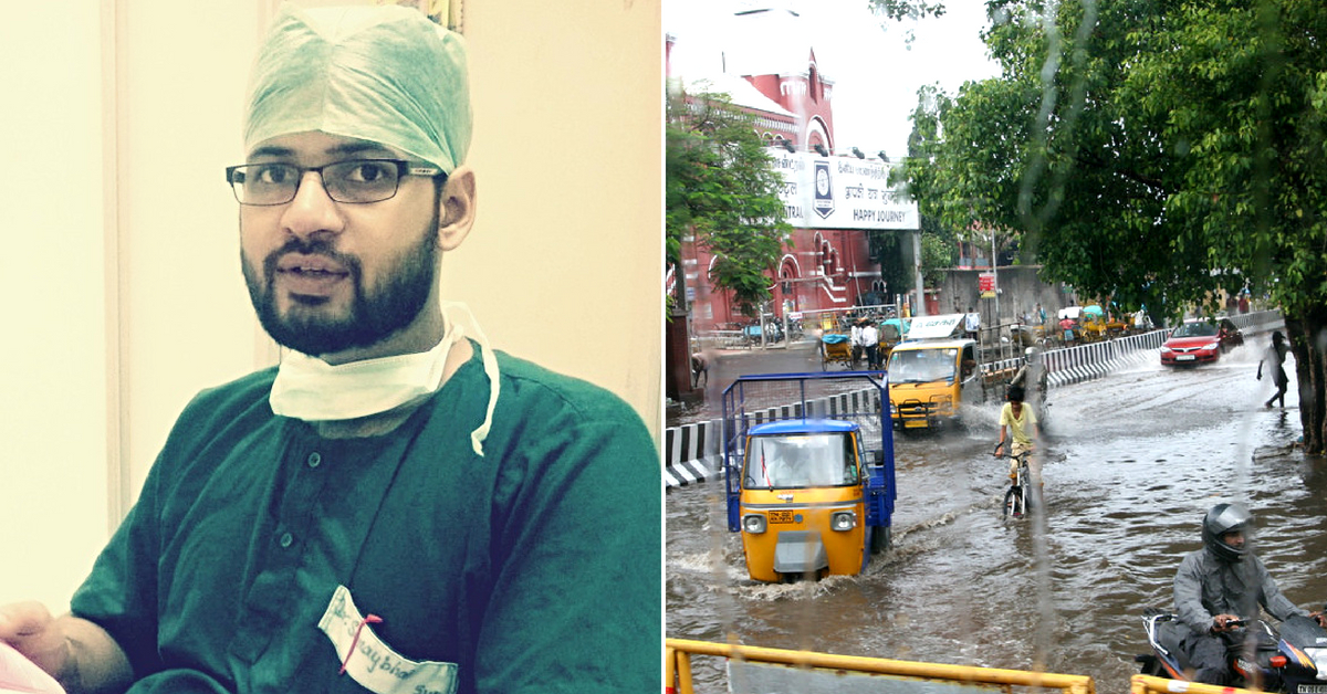Brave Coimbatore Doctor Drove 14 Km in Torrential Rains to Save Life of Child!