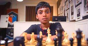 Chennai's Rameshbabu Praggnanandhaa is the second youngest Grandmaster, in the world. Image Credit: Shree