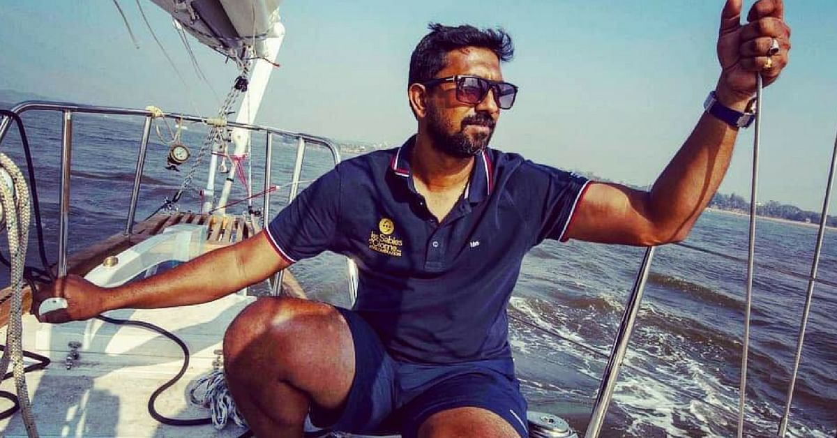 Commander Abhilash Tomy, will sail aboard the 'Thuriya'. Image Credit: Abhilash Tomy