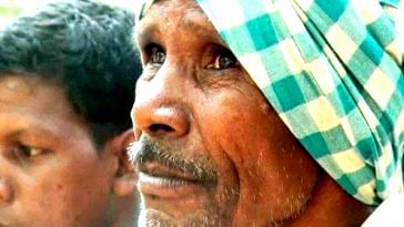 Daitari Nayak, from Odisha, dug a 3 km long canal at the age of 75.Image Credit: My Bhubaneshwar