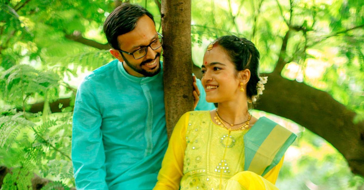 Recycled Decor, Eco-Cutlery & E-Invites: Mumbai Couple Go Green on Wedding!