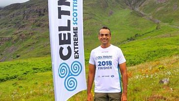 Delhi's Siddhant, is the first Indian to take part in the CELTMAN! event. Image Credit: Siddhant