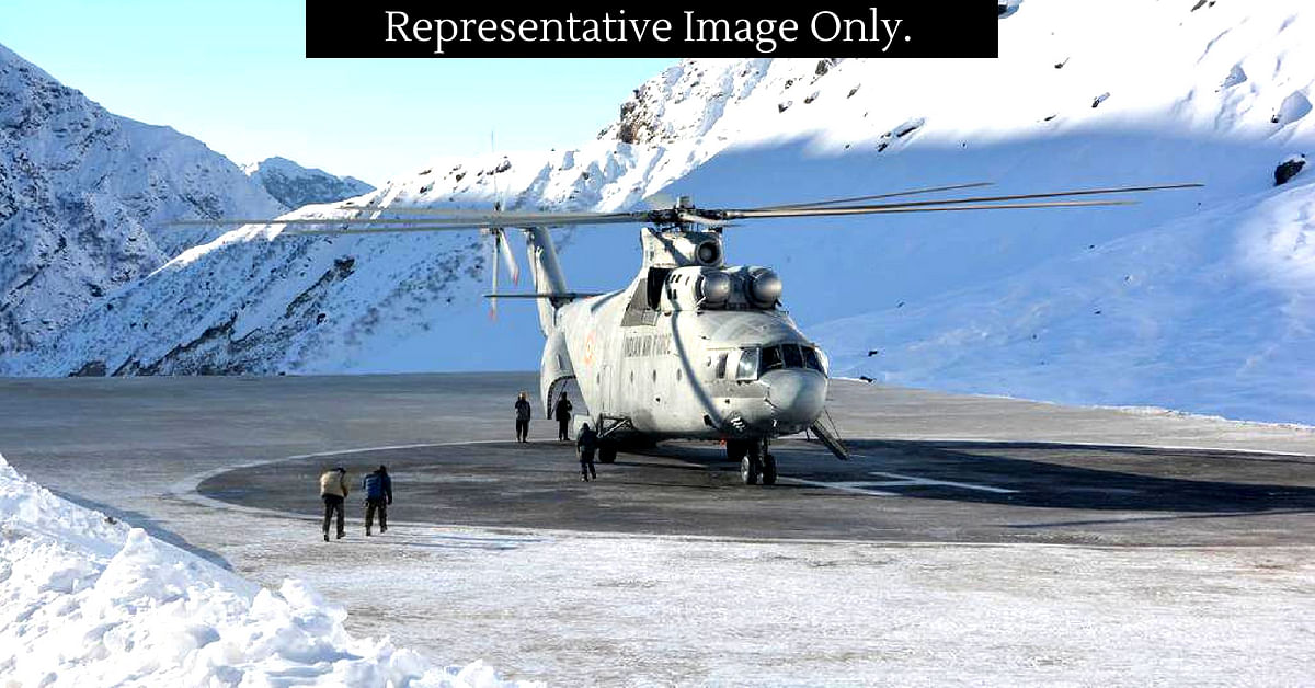 For pilgrims heading for the Kailash Mansarovar Yatra, the IAF has an airbridge. Representative Image Only. Image Credit. Rotarywing
