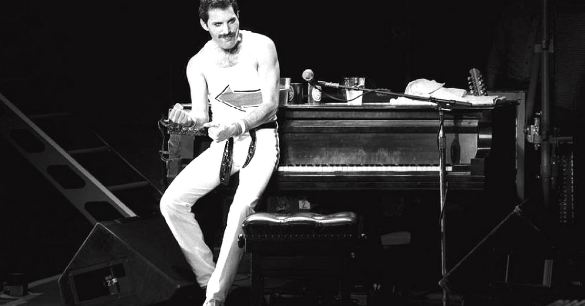 Freddie Mercury found global success as the frontman of enigmatic rock band Queen. Image Credit: Freddie Mercury