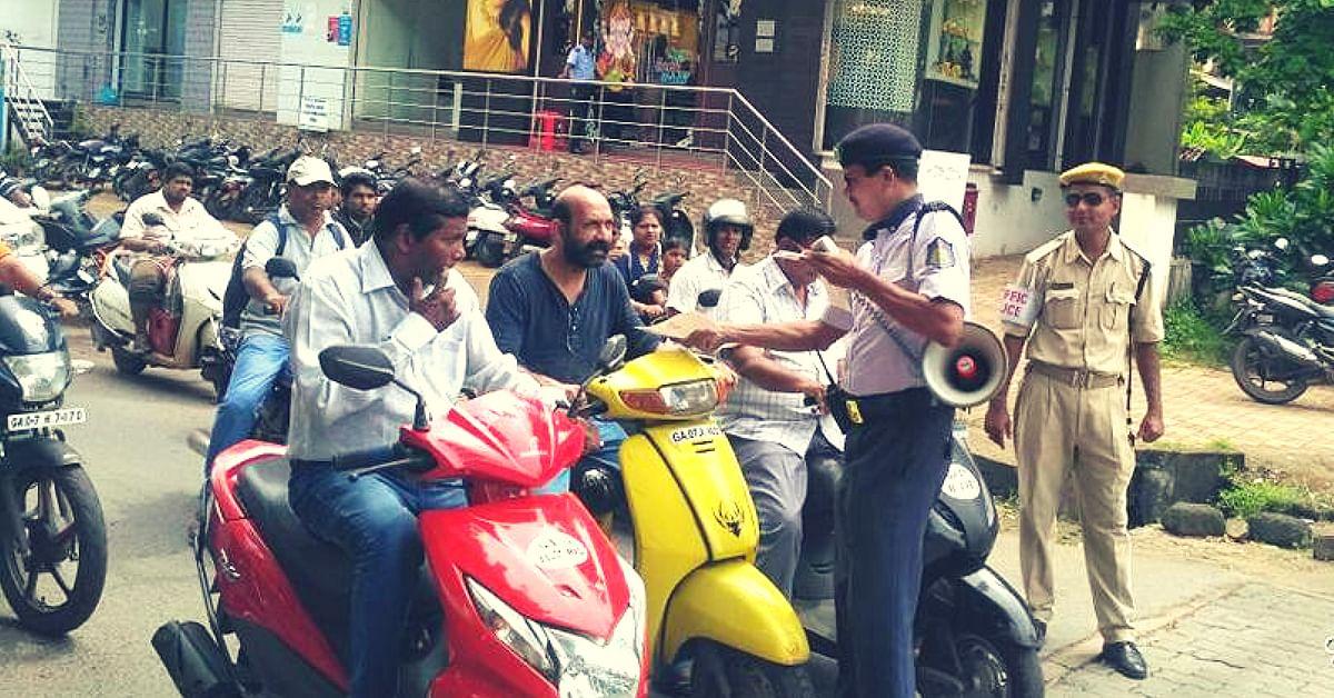 Goa Police traffic