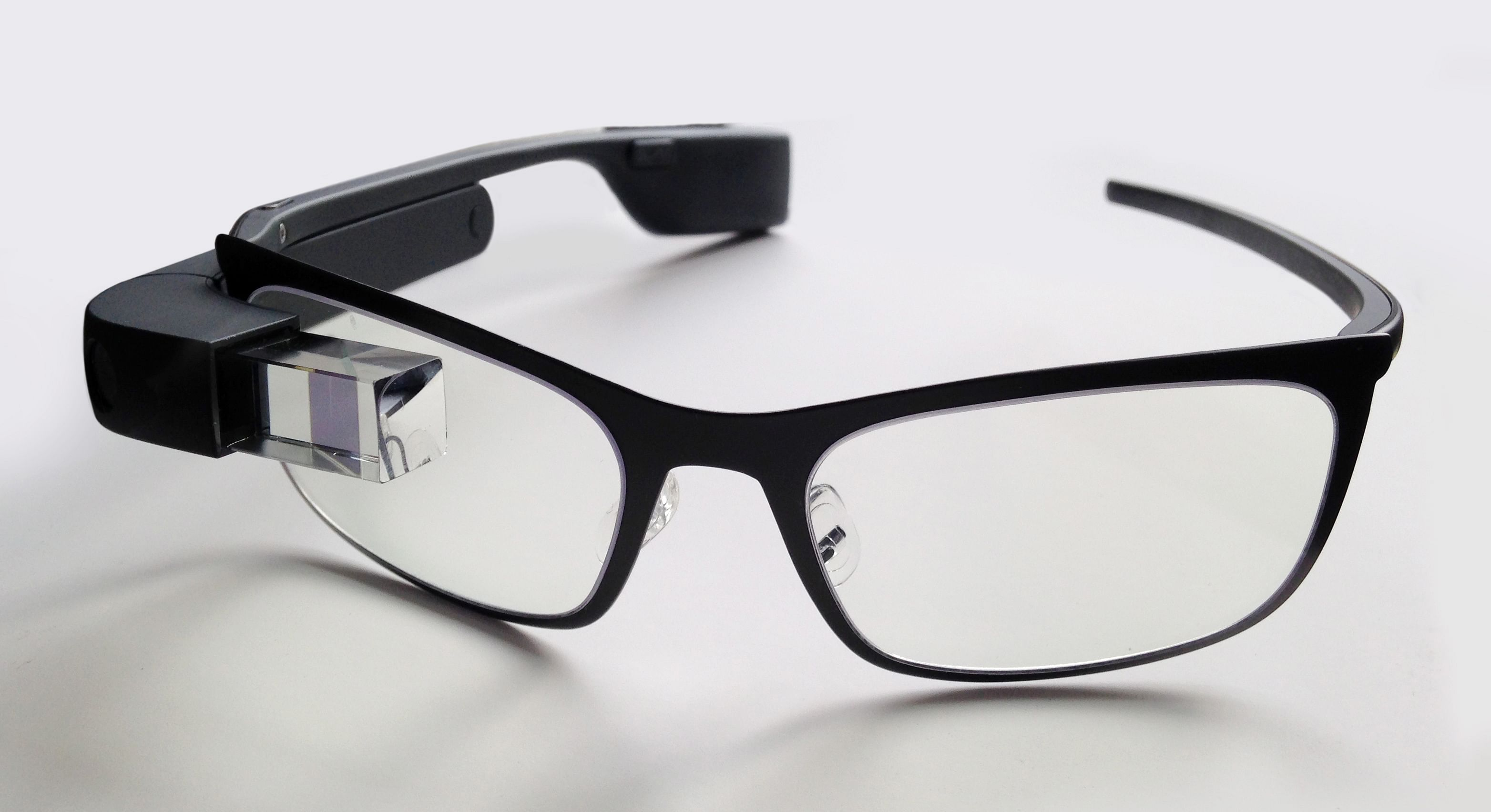 Google Glass with frames. (Source: WIkimedia Commons)