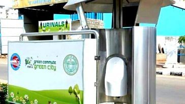 Hyderabad's odourless urinals will help the environment.Image credit: Nftv Channel