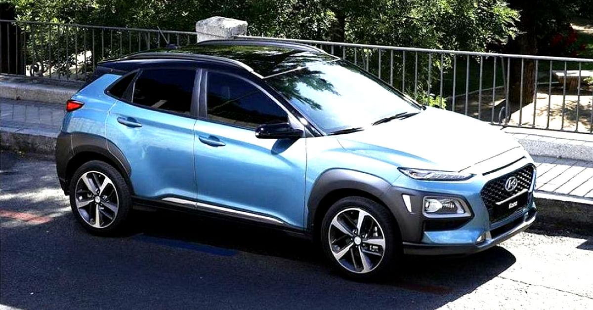 Hyundai, is allegedly planning to launch the electric car the KONA, in India, in 2019.Image credit: Techo Buzz