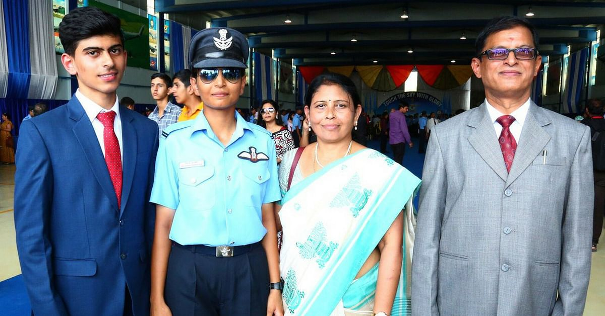 Meet the Karnataka Girl Who Just Became South India's 1st Woman Fighter Pilot
