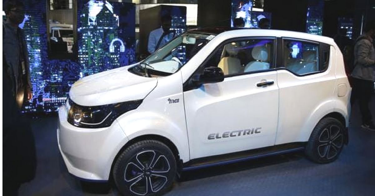 Mahindra's electric SUV will be quite the head-turner, on launch.Image credit: Tejasraj Bodake