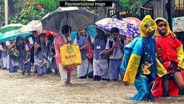 Mumbai rains school driver