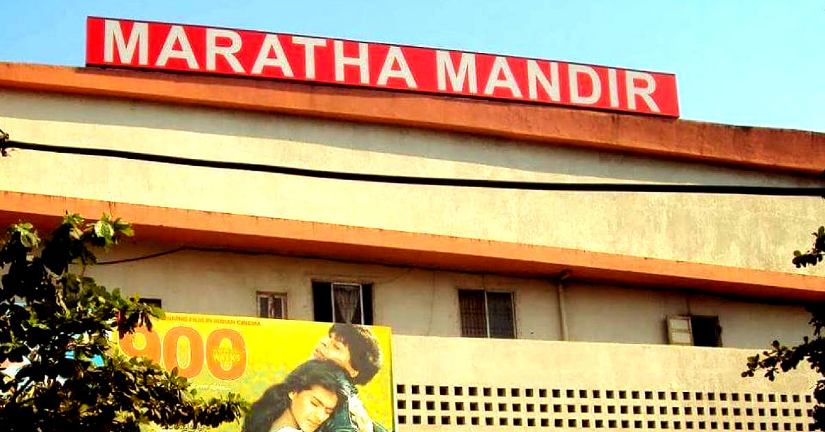 Mumbai's Maratha Mandir, is iconic, and ran Dilwale Dulhaniya Le Jaayenge for 20 years. Image Credit: Mumbai Darshan