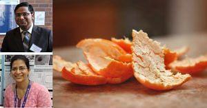 IIT Bombay create multiple use of orange peel!