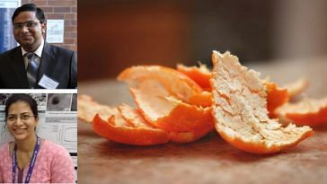 IIT Bombay create multiple use of orange peel!
