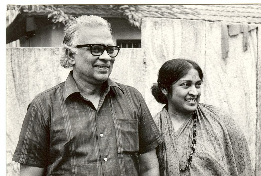 Snehalatha Reddy with her husband Pattabhi Rama Reddy (Source: The Concerned for Working Children, June 2015)