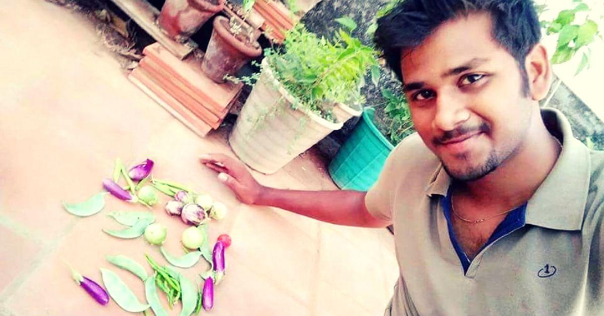 Chennai Boy's Love for Gardening Now Helps City Folks Grow Their Own Food!