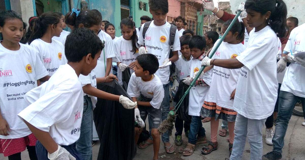 Plog for Change: Delhi Kids Set Example for All on World Environment Day!
