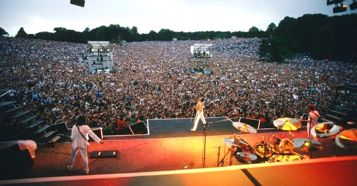 Queen, enthralled audiences with their live performances, and Mercury was undoubtedly the star of the show.Image Credit: Freddie Mercury