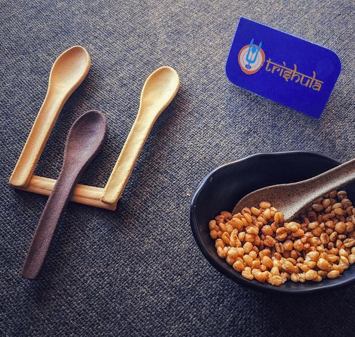 This Gujarat Boy's Edible Spoons Come in 8 Unique Flavours