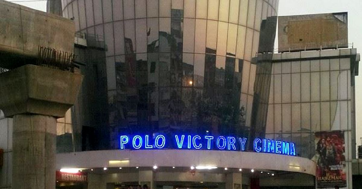Screening many a classic back in the day, the Polo Victory Cinema, in Jaipur, now has a modern facade. Image Credit: Lalchand Saini