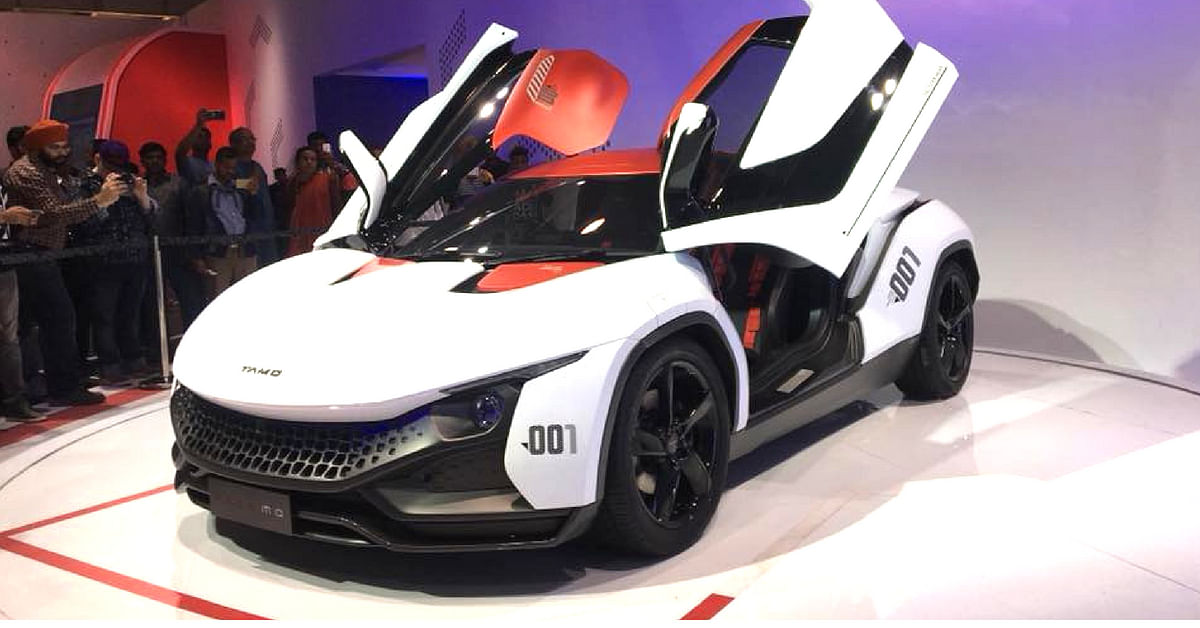 Tata Motor's Racemo concept, continues the company's foray into electric vehicles.Image Credit: Soham Sen