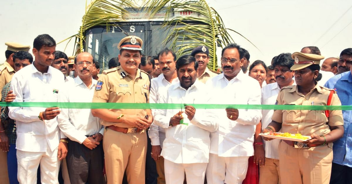 Rachakonda Police Helps Tribal Hamlet Get Its First Motorable Road Since Independence!