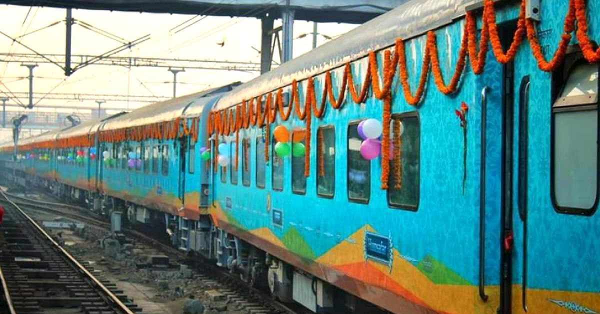 The Humsafar Express, a new train by the Railways, is loaded with great features.Image Credit:- Indian Trains