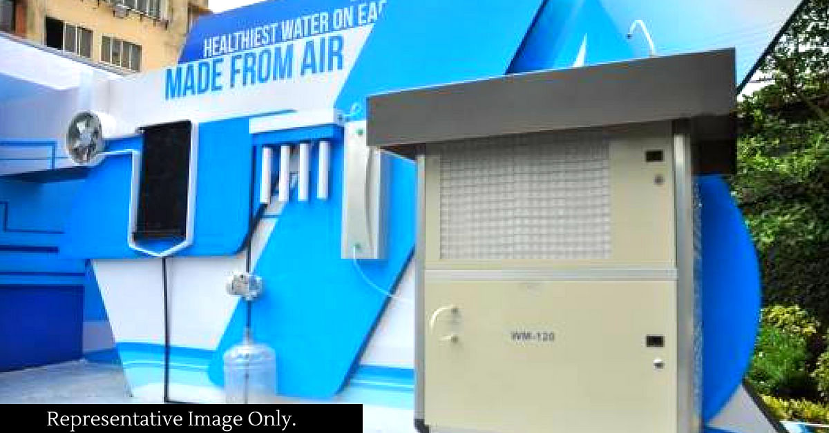 "The Hyderabad-based low-cost device, can extract water from thin air. Representative Image Only. Image Credit: <a href=""https://www.facebook.com/BRAND.ACTIVATE/photos/p.873528009326992/873528009326992/?type=1&opaqueCursor=AbqP-rN7XNKQn8IlGbtRCjYtr1KI1dz_0BpyYSluJQcFT7iaGefKy8qBRRgc-JATO7umyQM8hUyIQVZczc6-5Ib7_ozSP4DyXVLpxHVhSR8-NZLgpPFd9Jp6j-EQr9_nTKVALZ43vqajkFXcbcUzfxGTZL7k-Tj7ZRW7AQoKgf1N_wtl9sihzimdnH3Dv5lR3cohifn03CzsvpGF1u9ljvit8nMBAIgAOd7shdK0yg0vkUVYrnQ9DfxddGSZp_8LKUXoJgv9vER0TwimdaDQ5EsTZOuJXPZ0--udX6buI-XFdkB8M98MZdcV_En288v-CSfz7DIOv-_sTu2KttauTOXqoIc9bKWLCudQ4vZPv_838Du2Cj_acK87TrLM2V2CUqtgm9OCAFH1sKmb4fiRQ1ULsqkvE1TJb99tWc_ZizhO8w&theater"">Brand.Activate</a>"