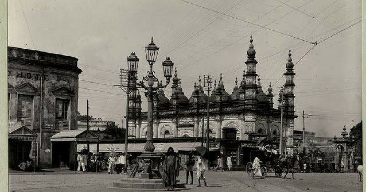 The Tipu Sultan Mosque, in Kolkata, as pictured in the 1890's. Image Credit:Beauty of Kolkata