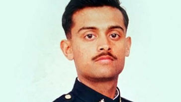 The brave Captain Thapar, a Kargil martyr, and a true hero. Image Credit: Ravendra Singh‎