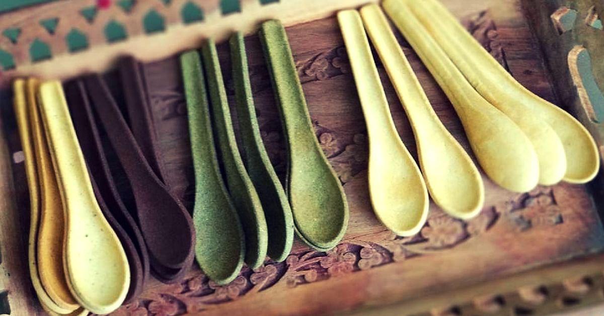 Ditch the Plastics: This Gujarat Boy's Edible Spoons Come in 8 Unique Flavours!
