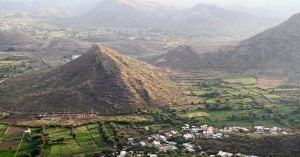 Agriculture fields in Aravalli Hills, Udaipur, Rajasthan India. Source: Wikipedia