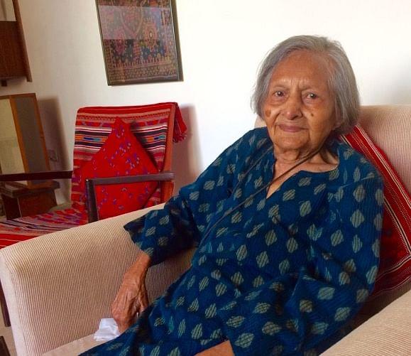 Violet Bajaj at her home in Delhi (Photo: Deepika S)