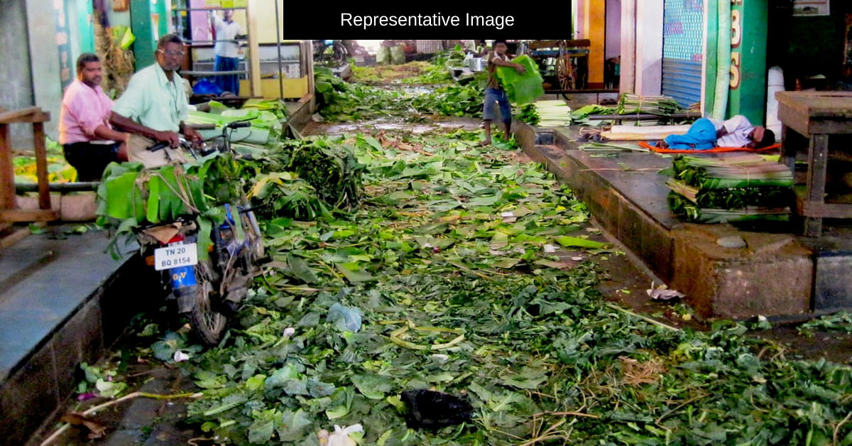 Chennai Goes Green: Veg Waste From This Market Powers a College Kitchen!