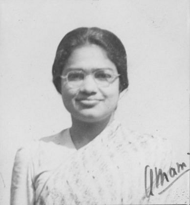 Anna Mani, who was one of Violet's closest friends (Photo: RRI Digital Repository)