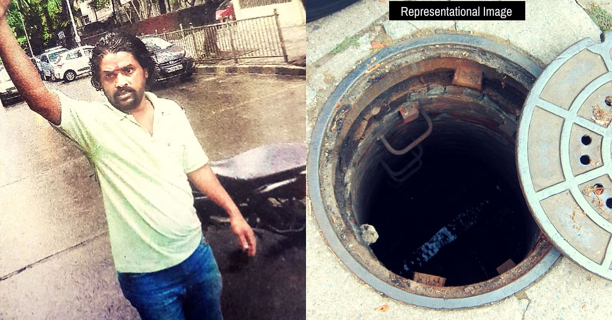When BMC Failed, Mumbaikar Spent Hours Alerting Motorists About Open Sewer!