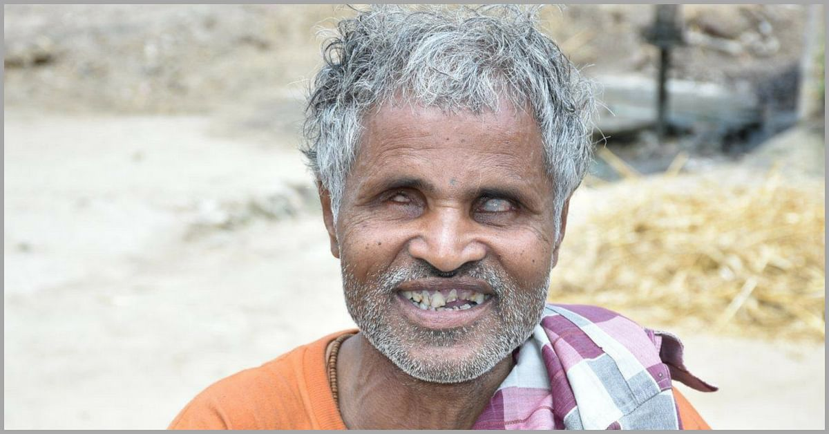 This 50-YO Visually-Impaired Man Is a Hero of His Village. Here's Why!