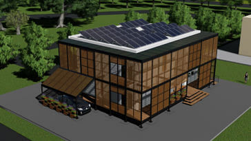 Team Shunya IIT Bombay Solar House china decathlon