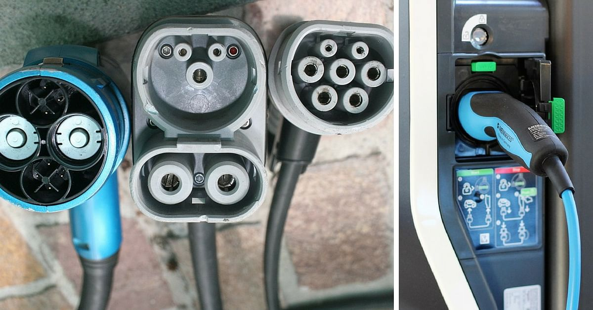 Electrical vehicle charging ports and stations