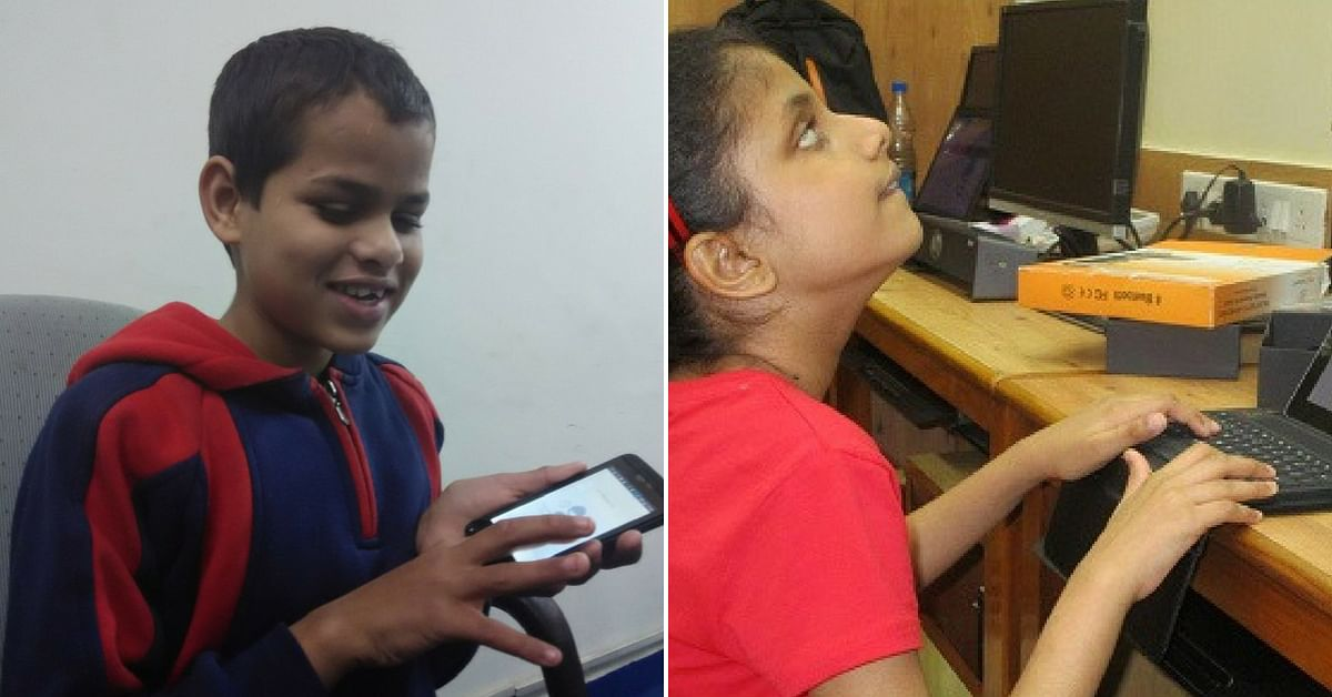 Hear2Read app for visually impaired students