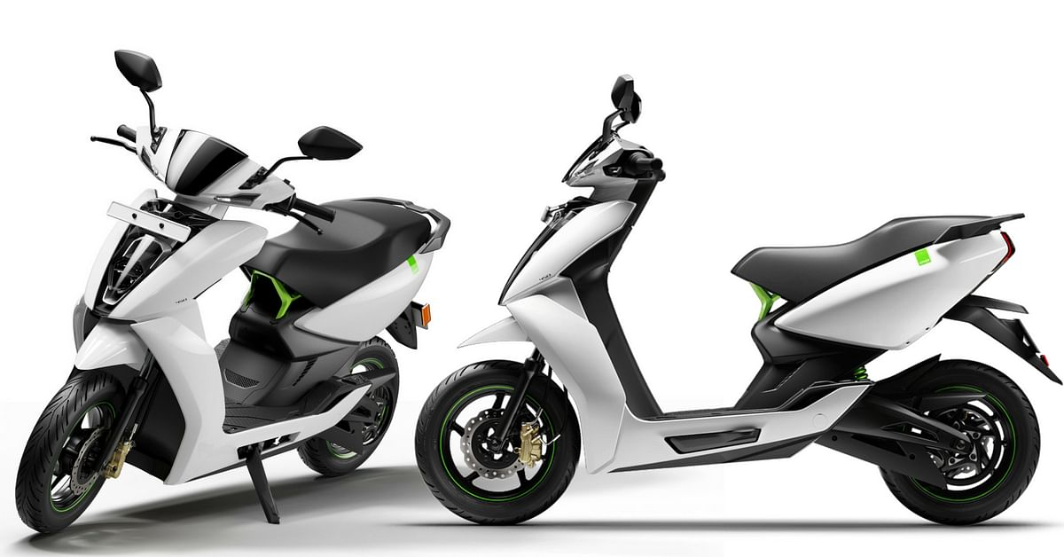 Ather Energies scooter 340 and the 450
