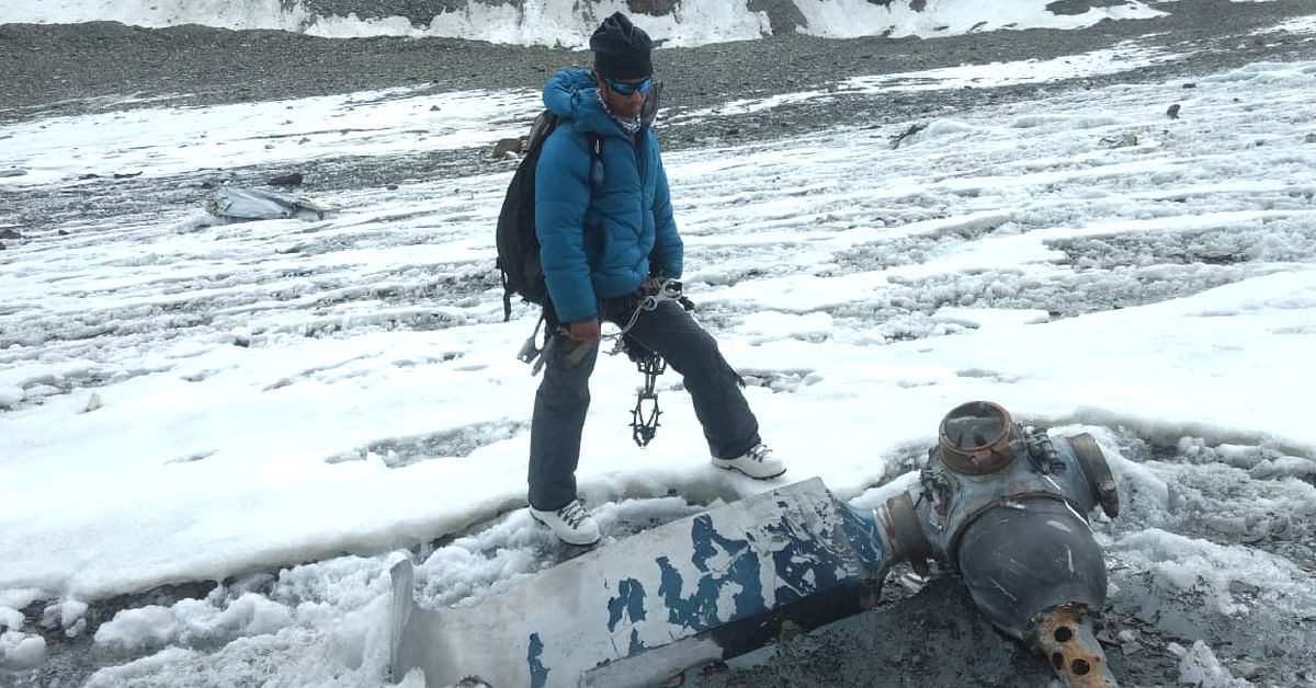 Mountaineers on Himachal Glacier Discover Soldier Killed In 1968 Plane Crash