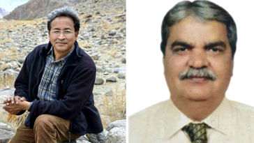 Sonam Wangchul (Left) and Dr Bharat Vatwani (Right)