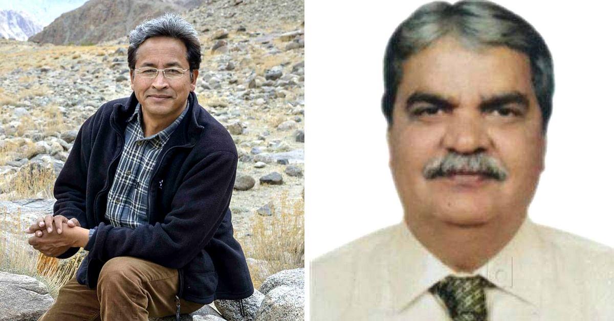 Sonam Wangchul (Left) and Dr Bharat Vatwani (Right)