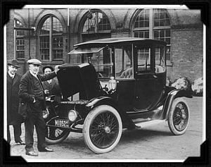 Electric car Edison 1913