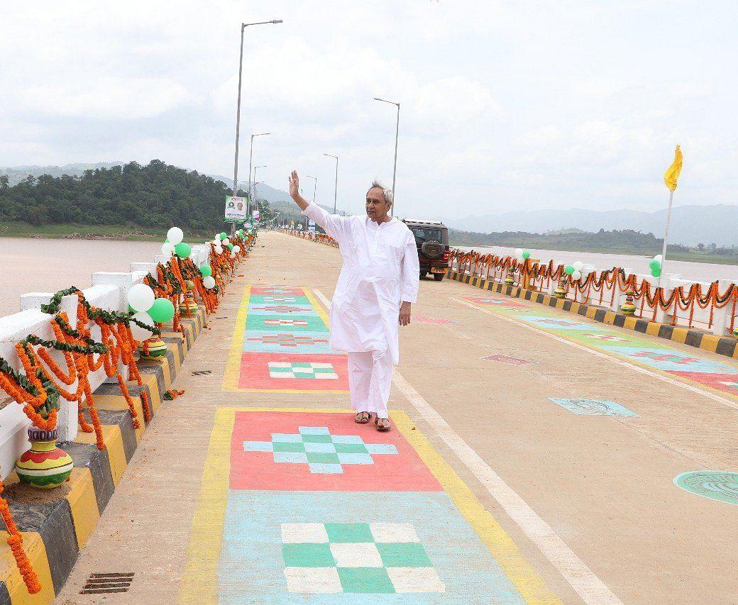 Odisha Chief Minister Naveen Patnaik during the inauguration ceremony. (Source: Twitter/Naveen Patnaik)