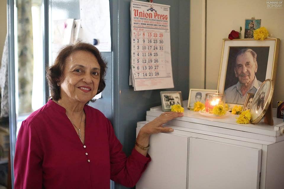 Mrs Aloo Bhartania. (Source: Humans of Bombay)