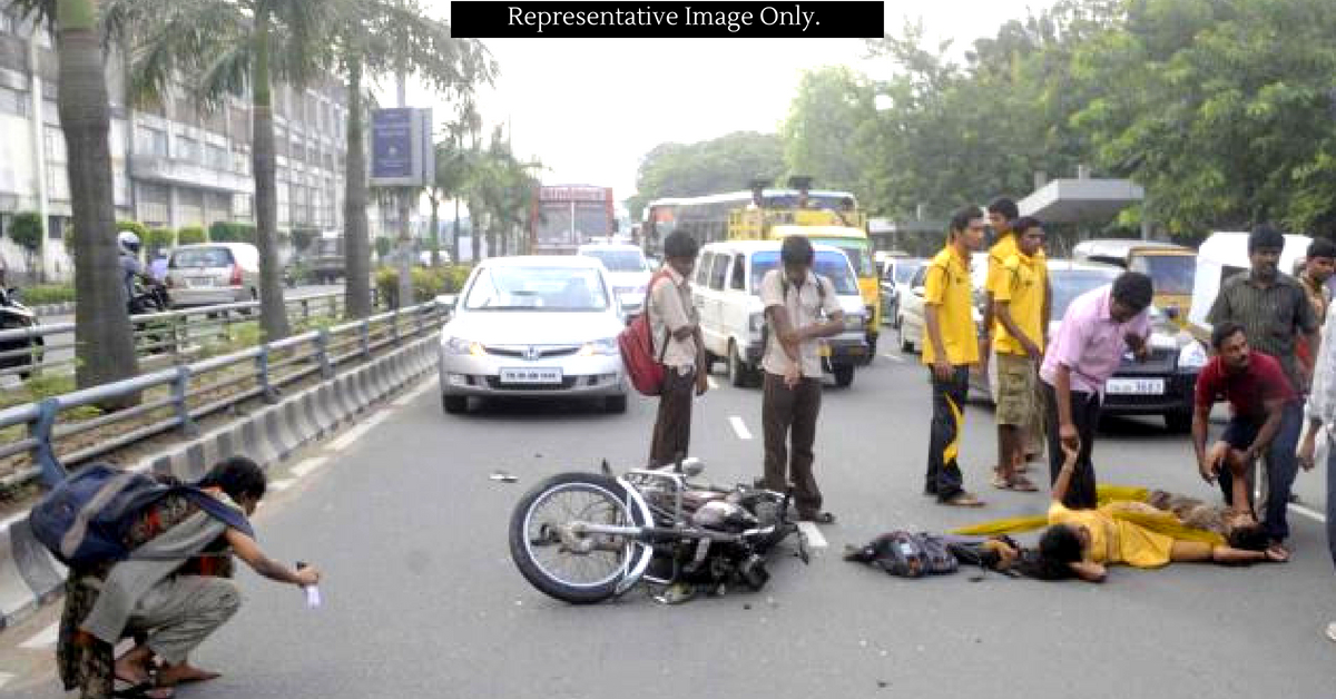 In Chennai, it is easier for accident victims to claim compensation.Representative image only. Image Credit: Mrs K M P M Inter College Jamshedpur